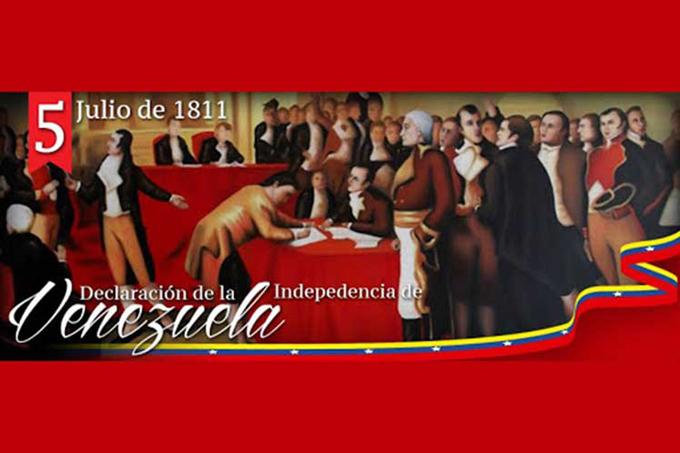 Venezuela continuará enarbolando bandera de la independencia