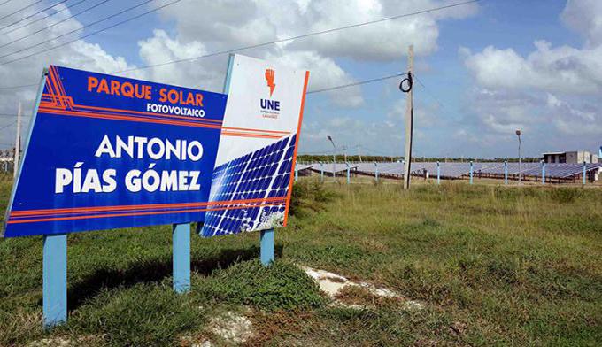 Nuevo parque fotovoltaico en Cuba, listo para sincronizar al Sistema Electroenergético Nacional (+fotos)