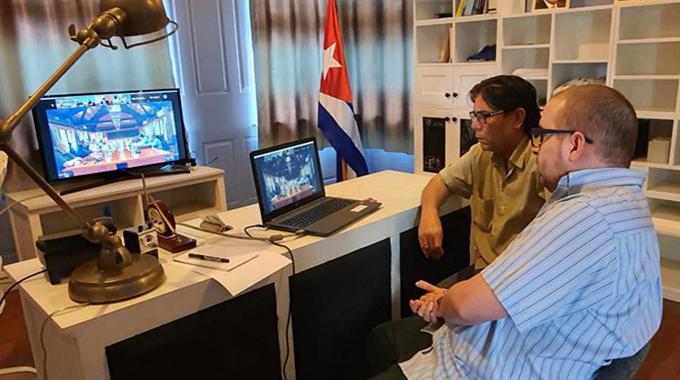 Participa Cuba en reunión virtual del Foro de las Islas del Pacífico sobre COVID-19