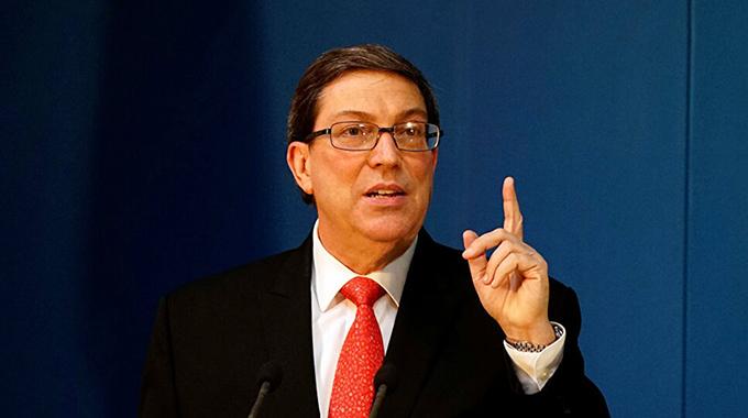 Afirma canciller que medidas de Estados Unidos contra Cuba tienen fines electorales