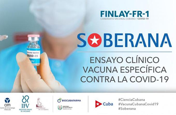 Cuba con éxito en inicio de ensayos clínicos de vacuna antiCovid-19