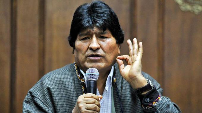 Diálogo es la vía para resolver crisis boliviana, reitera Evo Morales