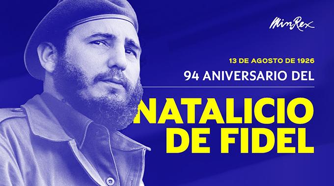 Conmemoran diplomáticos cubanos los 94 años del natalicio de Fidel
