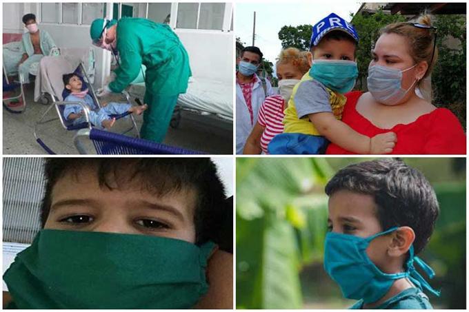 Recuperadas 294 personas en edad pediátrica en Cuba de la Covid-19