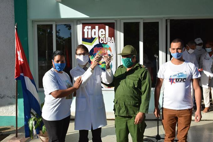 Emotivo homenaje a Fidel en Granma