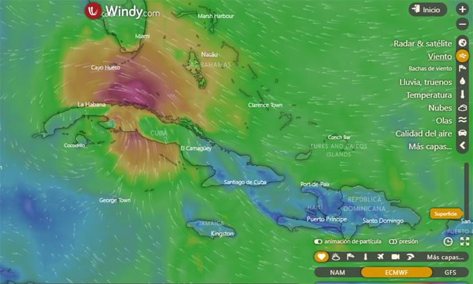 """Nota Informativa No. 5 Sobre la Tormenta Tropical Laura"""""""
