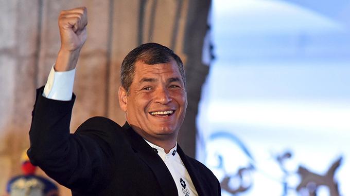 Anuncian a Rafael Correa como candidato a vicepresidente de Ecuador
