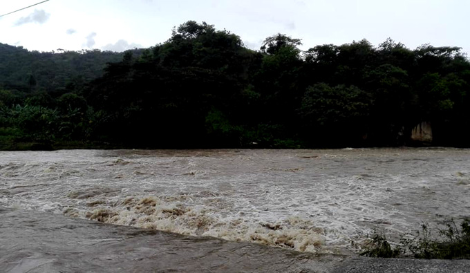 Significativos acumulados de agua deja Laura a su paso por Granma  (+ fotos y video)