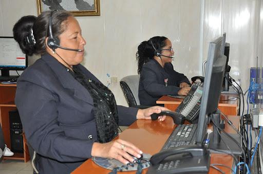 Afectaciones en la línea telefónica de atención a la población de la Empresa Eléctrica