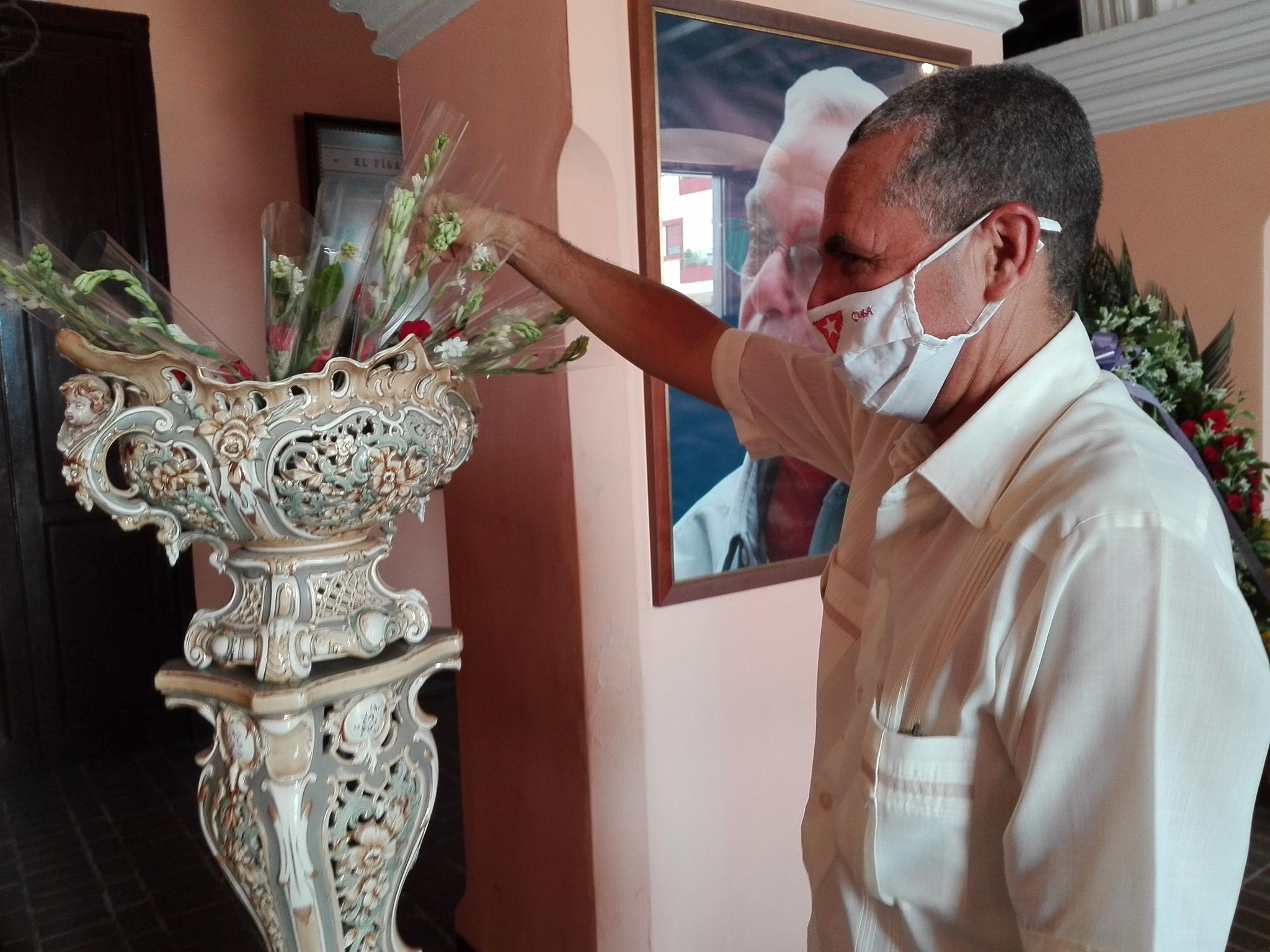 Homenaje en Bayamo a Eusebio Leal Espengler (+ fotos)