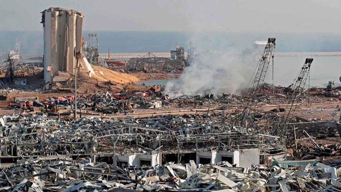 Presidente libanés agradece a Cuba por su solidaridad tras la explosión en Beirut