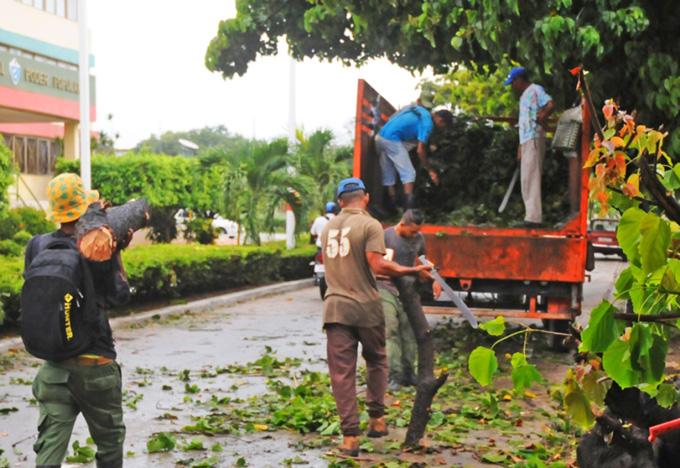 Fase recuperativa en oriente y centro de Cuba tras tormenta tropical