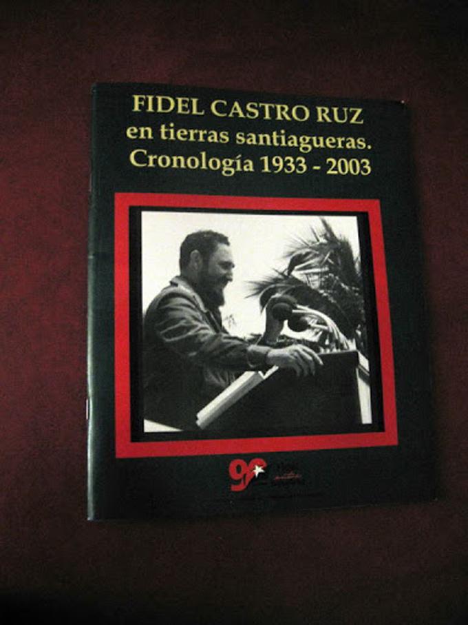 Reeditan en Santiago de Cuba libro sobre visitas de Fidel Castro