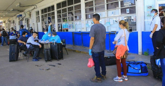 Más de 57 mil varados retornaron a Nicaragua desde marzo