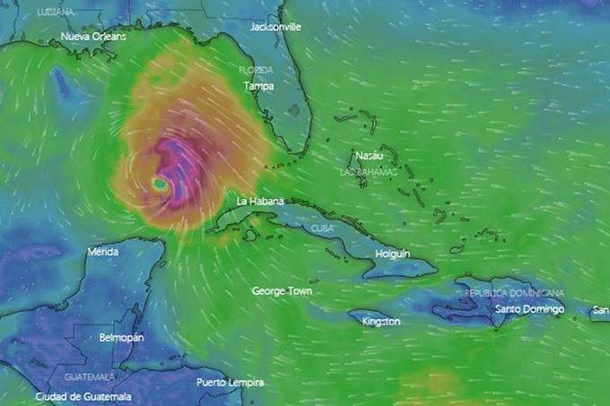 Laura se convierte en huracán, cuarto del Atlántico en 2020