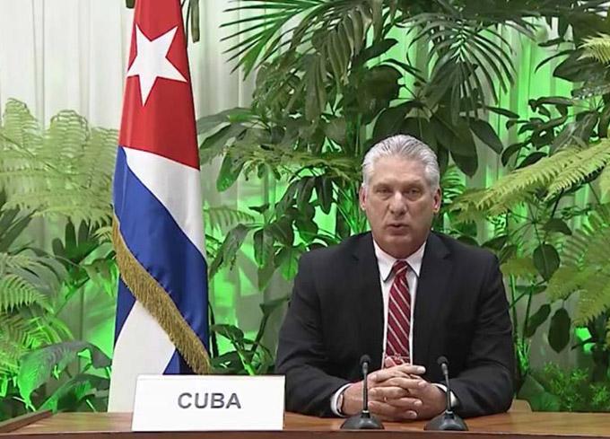 Presidente de Cuba intervendrá en debate general de ONU