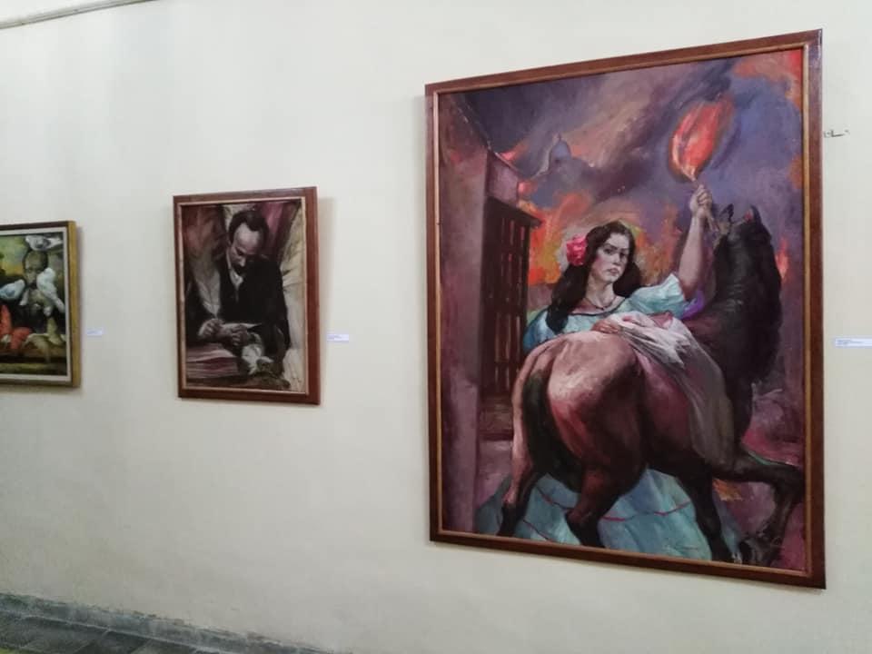 Muestra pictórica devendrá fondo patrimonial