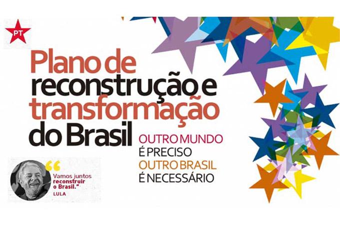 Partido de los Trabajadores presenta plan de reconstrucción de Brasil