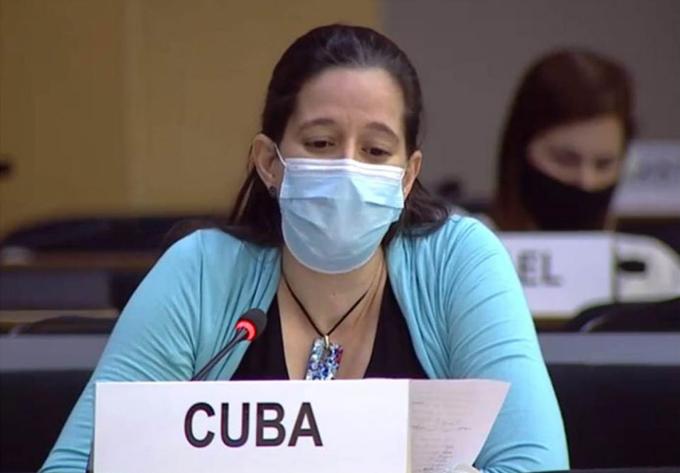Aboga Cuba en Ginebra por orden internacional justo, democrático y equitativo