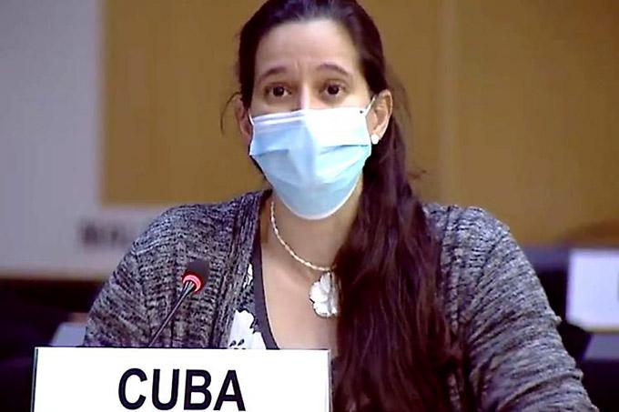 Cuba aboga en Ginebra por un orden internacional justo y equitativo (+Foto)