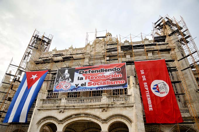 Felicita Presidente de Cuba a los CDR en su aniversario 60