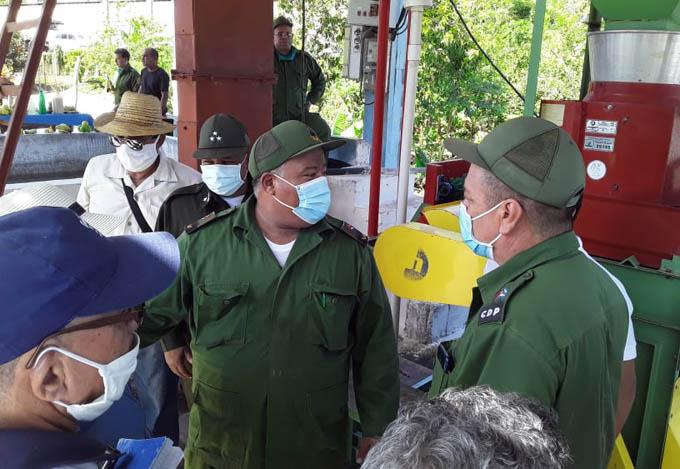 Realiza recorrido Consejo de Defensa Provincial por zonas del Plan Turquino