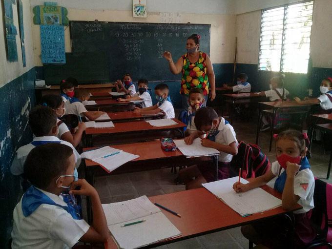 Satisfactoria primera semana de reinicio de curso escolar (+ fotos)