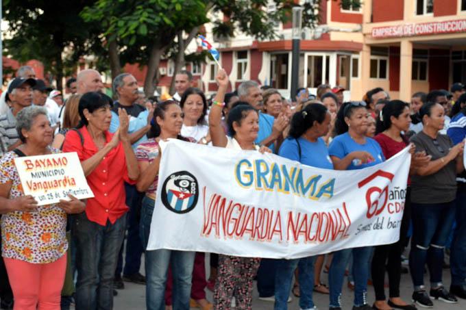 Ratifican cederistas de Granma condición Vanguardia nacional