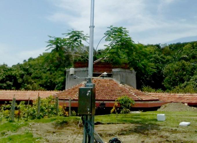 Estación automática de Guisa transmite datos al sistema nacional (+fotos)