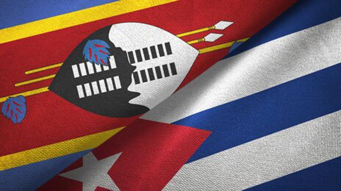 Conmemoran Cuba y el Reino de Eswatini 25 años de relaciones diplomáticas
