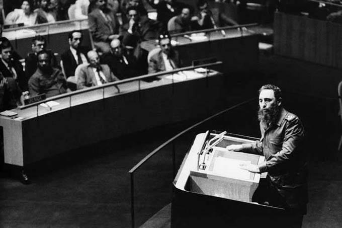 Presidente de Cuba destaca vigencia del discurso de Fidel ante la ONU (+Foto y Video)