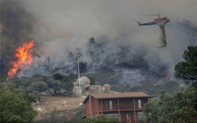 Condolencias de Cuba por víctimas en EE.UU. de incendios forestales