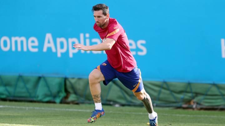 """Koeman: """"Messi, en forma, es importantísimo"""""""