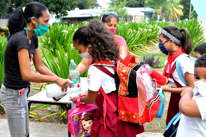 Cuba abre sus escuelas con precauciones especiales antiCovid-19 (+fotos)