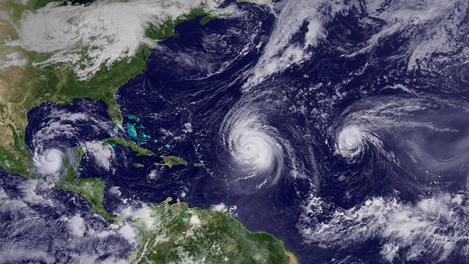 Actual temporada ciclónica, la más activa en los últimos 54 años