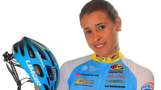 Libre de COVID-19, sigue en lid equipo liderado por ciclista cubana en Italia