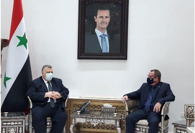 Presidente del Parlamento sirio agradece solidaridad de Cuba