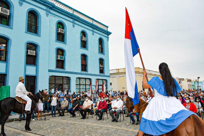 Rememoraron fecha fundacional del Himno de Bayamo (+fotos)