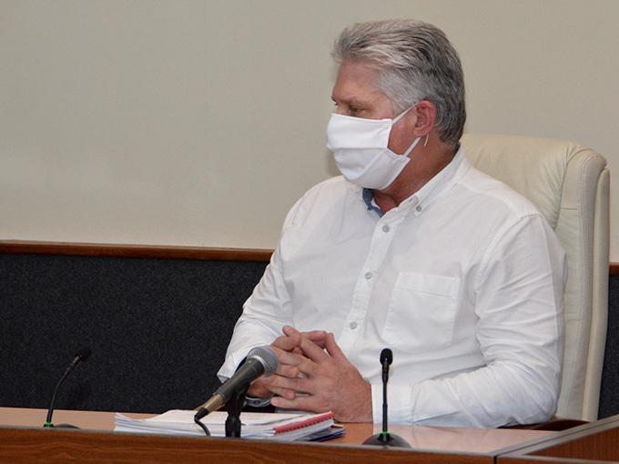 Dialogó Díaz-Canel con presidente de Kenia sobre médicos cubanos secuestrados