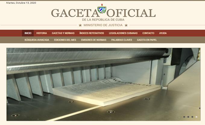 Informa Gaceta Oficial sobre restablecimiento de procesos judiciales en Cuba