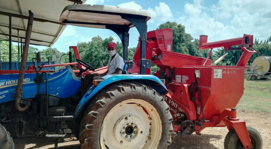 Desarrollan Acto Municipal por el día del  trabajador agropecuario