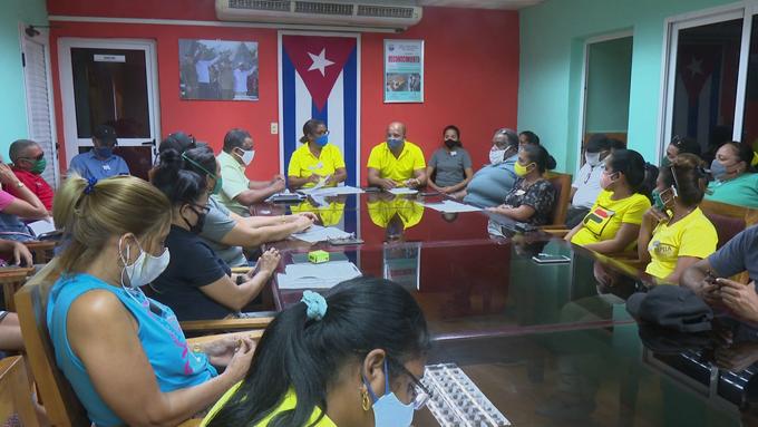 Patentizan trabajadores granmenses su apoyo a la Revolución