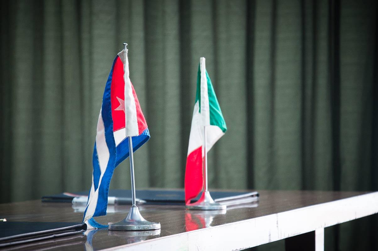 Reafirman Cuba e Italia interés de avanzar en las relaciones bilaterales