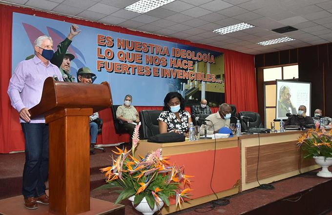 Concluye tercera visita gubernamental a Santiago de Cuba