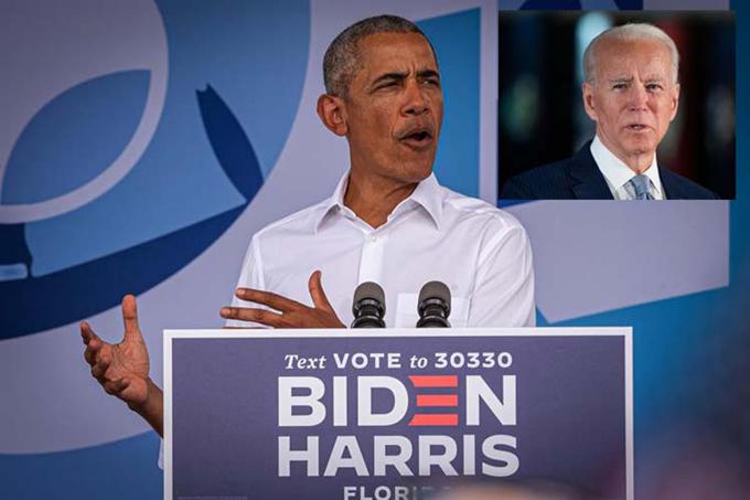 Obama pulsa en Florida, EE.UU., voto por Joe Biden