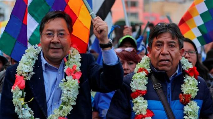 Felicita Díaz-Canel al nuevo presidente boliviano