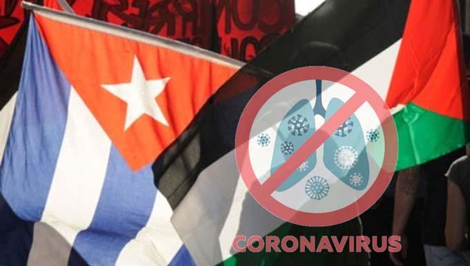 Cuba apoyará lucha contra Covid-19 en Palestina