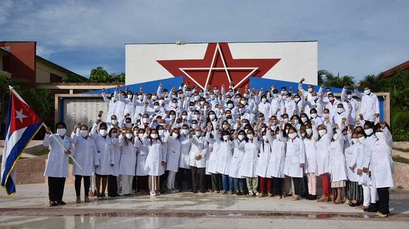 Brigada médica cubana apoyará labor sanitaria anti-COVID-19 en Azerbaiyán