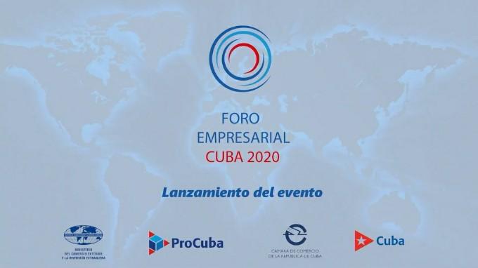 Lanzará Cuba convocatoria a Foro Empresarial 2020