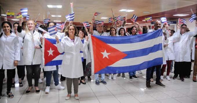 Otro legislador británico nomina a médicos cubanos al Nobel de la Paz